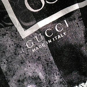 Large Square silk Gucci scarf